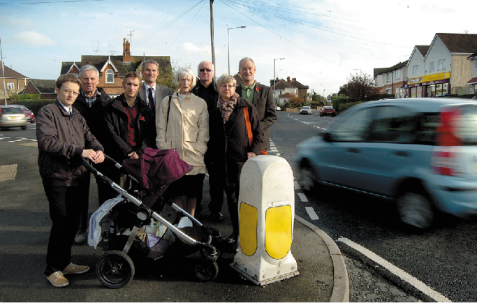 Residents call for traffic help at accident blackspot | The