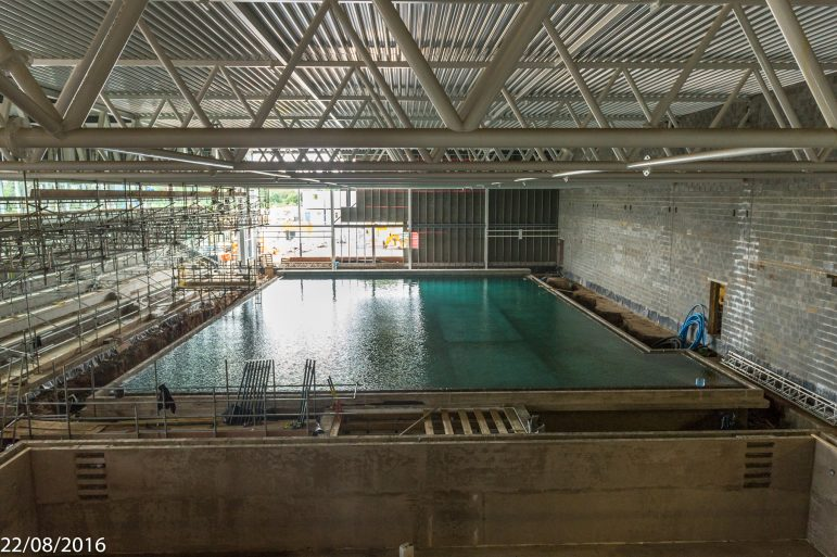 Watch High Speed Video Of Worcester 39 S New Swimming Pool The Worcester Observer