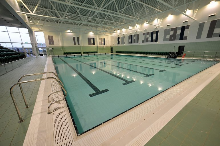 First image released of worcester s new pool the worcester observer Huntingdon swimming pool timetable