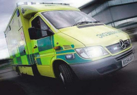 Tears as non-emergency ambulance contract is lost to private