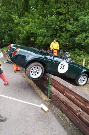 Chairman in Hill Climb crash | The Worcester Observer